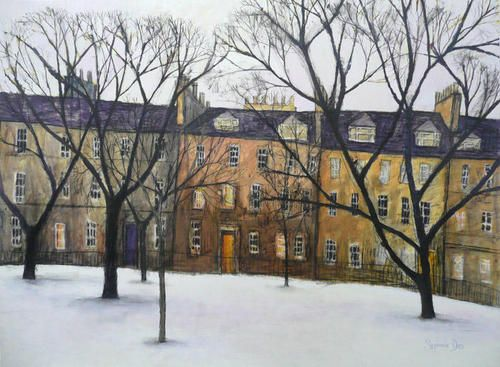 After the Snow, St Andrew Square: Stephanie Dees