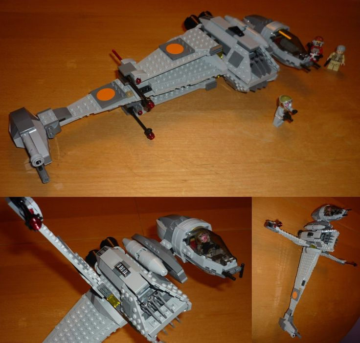 B-Wing  Someone bought me a present today, as they knew my favourite star-fighter from Star Wars was the B-Wing.