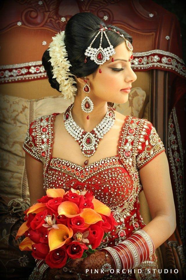 Indian wedding hairstyles: updo