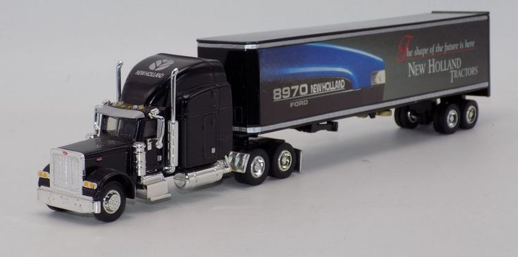 Liberty New Holland Peterbilt Semi Truck Trailer Diecast 1:64 No Box #LibertyClassics #Peterbilt