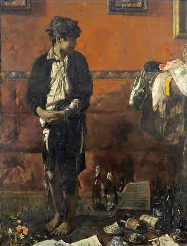 Antonio Mancini: Nineteenth-Century Italian Master - The New York Times > Arts > Slide Show > Slide 4 of 10