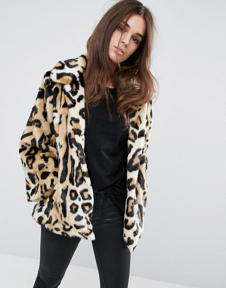 SHOP: You can't go wrong with a leopard print coat. They look great with jewel tones, suede and denim.