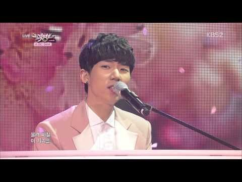 ▶ ZE:A FIVE - Cherry Blossom Ending + The day we broke up (Music Bank 130412)