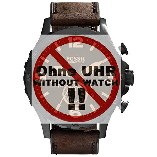 Fossil Uhrband Wechselarmband LB-JR1487 Original Ersatzband JR 1487 Uhrenarmband Leder 24 mm Braun - http://on-line-kaufen.de/fossil/fossil-uhrband-wechselarmband-lb-jr1487-jr-1487