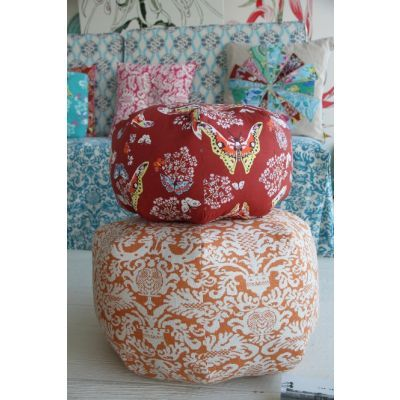 Gum Drop Pillow & Ottoman