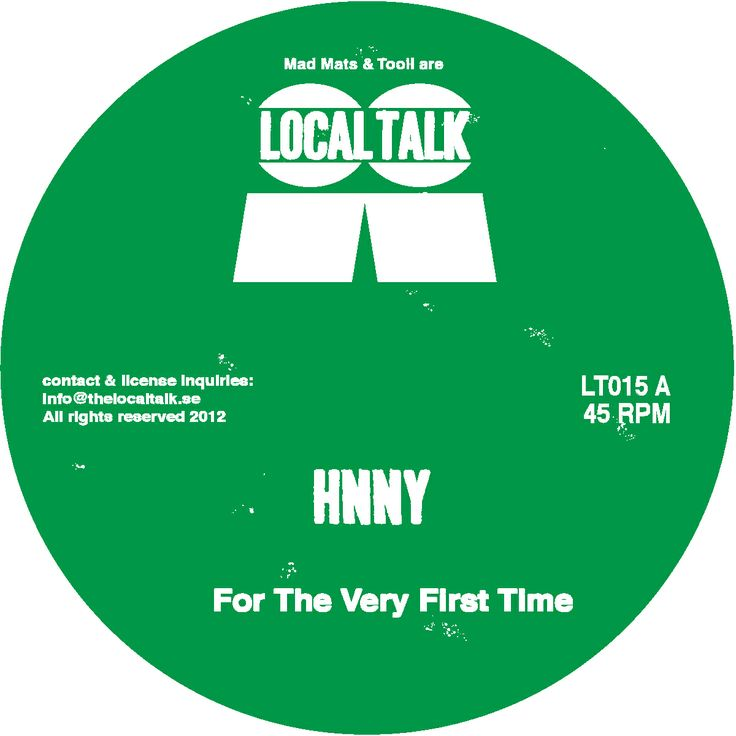 Clubbing from my sofa / HNNY - For the very first time ep