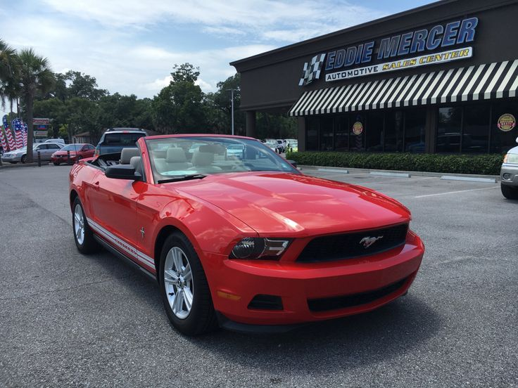 Used 2012 Ford Mustang Convertible for sale in Pensacola, FL