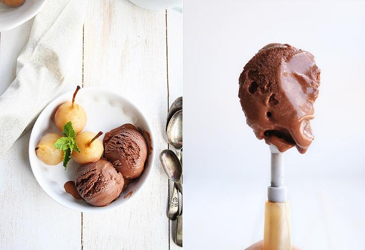 Chocolate ice cream, In spanish and Ice cream recipes on Pinterest