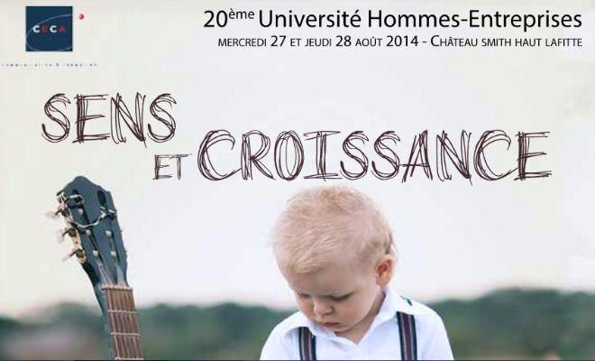 L'Université Hommes-Entreprises fête son 20ème anniversaire les 27 et 28 août