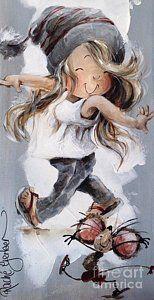 Painting - Joy by Rache Gerber