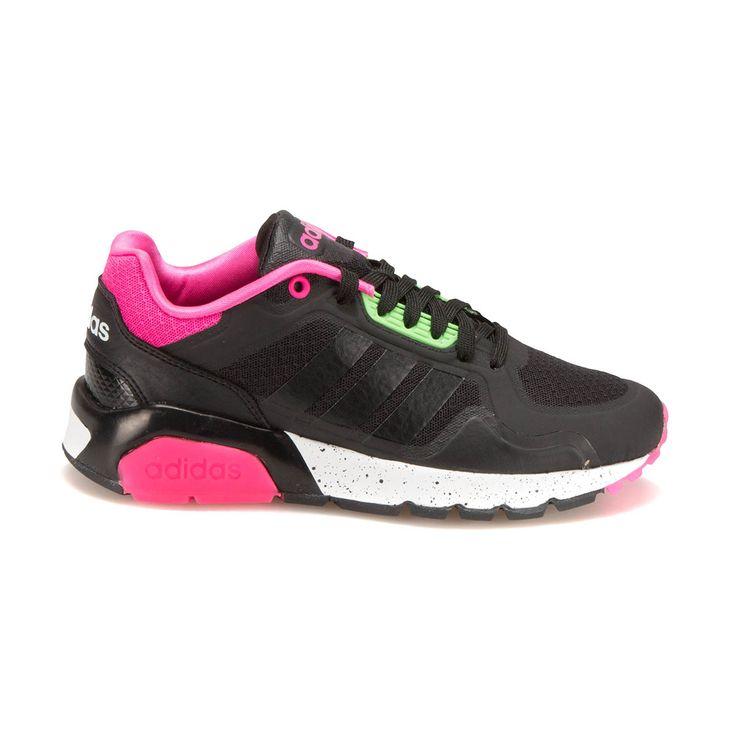 adidas RUN9TIS TM W Siyah Pembe Kadın Sneaker - Spor Ayakkabı - Kadın