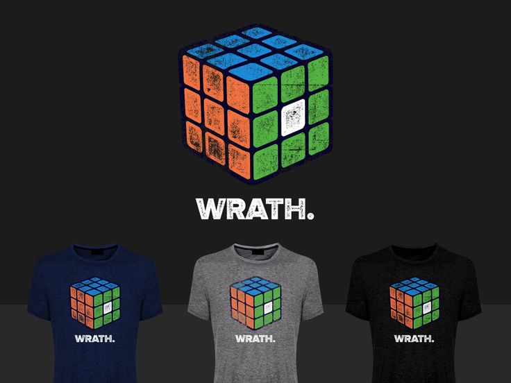 T-shirt Design by STierney for Rubik's Cube Inspired Tshirts for a Rubik cube and puzzles club and store - Design #9331120