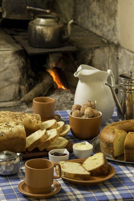 Café da manhã na roça é assim!