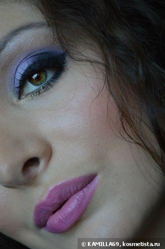 Праздничный макияж с сиреневым акцентом — Отзывы о косметике — Косметиста