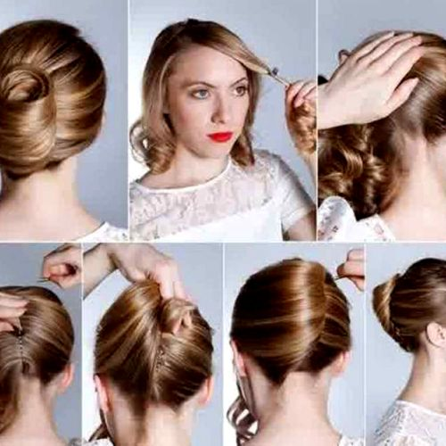 Best Hair Style Images On Pinterest Hair Cuts Hairdos And - Hairstyle rambut pendek ke pesta