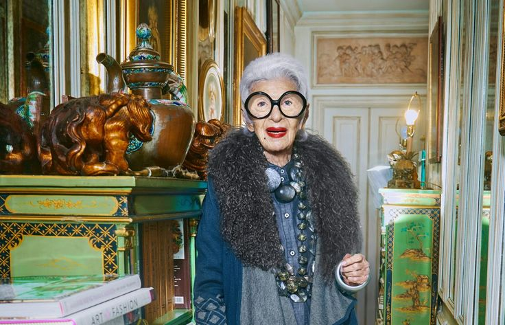 IRIS APFEL: 'I DON'T THINK THAT STYLE HAS ANY AGE' | collectivehub.com