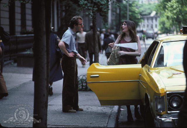 NYC. Woody Allen and Diane Keaton in Annie Hall  // IMDb
