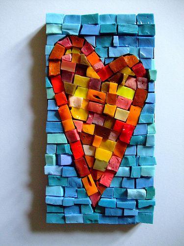 smalti heart by smilisazi, via Flickr