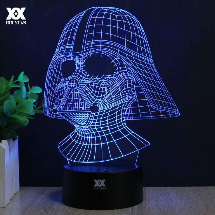 Star Wars Lamp 3D Novelty Night Lights USB //Price: $30.49 & FREE Shipping //     #legostarwars  #starwarsdaily  #StarWarsBlackSeries  #starwarstoyfigs