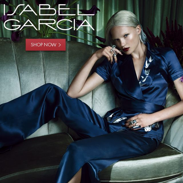 Isabel Garcia is now available online! Visit <<<SHOP.ISABELGARCIA.IT>>> Shop SS2015 hottest styles Online >>> http://bit.ly/1EdUdHu