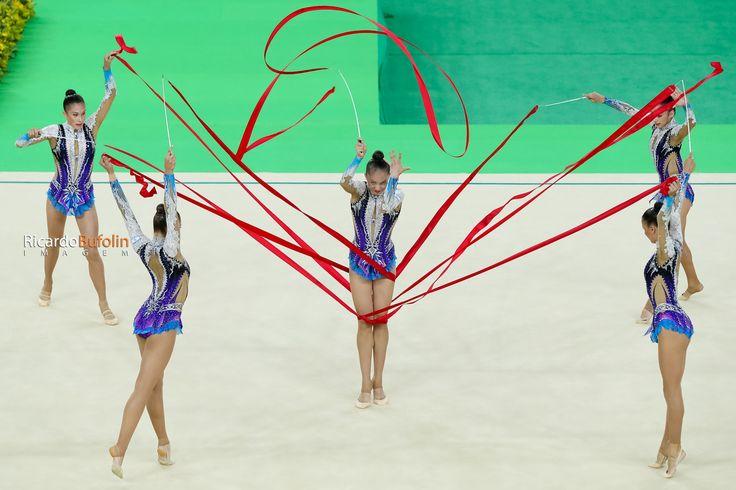ISRAEL | GROUP - Rhythmic Gymnastics   #fig #cbg #cob #canon #gymnastics #ginastica #gimnasia #olympicgames #olympics #olympic #sport #esporte #photo #bufolin #rbufolin #israel #isr #passion #dance #girl #ribbon #ballet #rhythmic #ritmica #telaviv