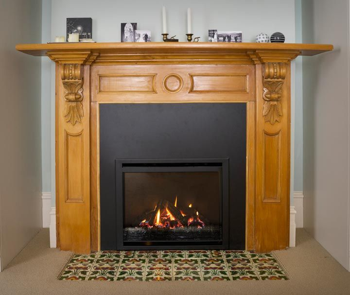 Upgrade your fireplace with an Escea AF700 #renovation #fireplace