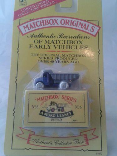 Die-cast-car-collection-no-6-bumper-matchbox-originals-40th-anniversary-1988