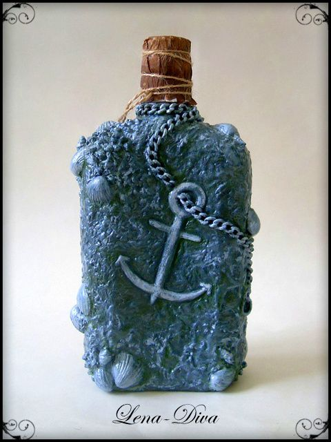 декупаж бутылки в стиле ампир - Поиск в Google