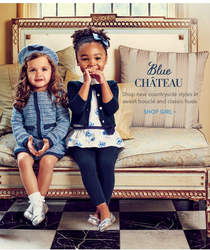Janie and Jack is a leader in children's fashion. The iconic design house offers a modern take on classic silhouettes and a sophisticated sensibility. Janie and Jack is known for outstanding style and quality, with great care given to every detail.