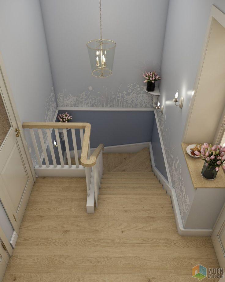 Декор лестницы в частном доме