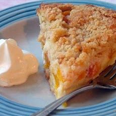 Peaches & Cream Pie Recipe