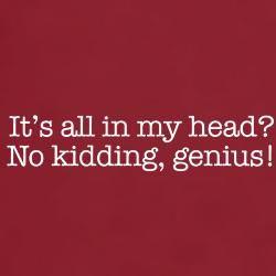 """It's all in my head..."" Chiari Geniuses."