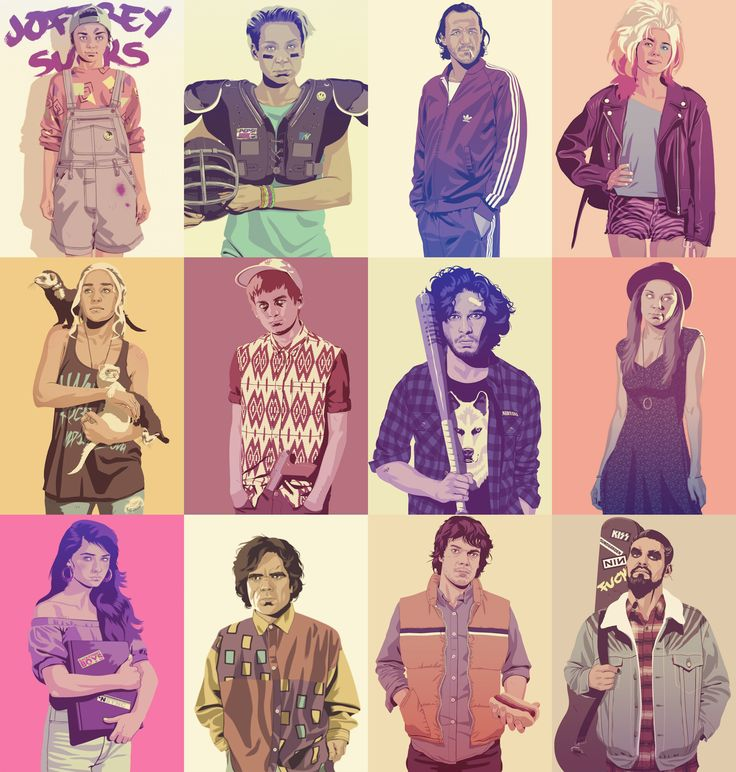 Game of Thrones as 80s/90s Characters
