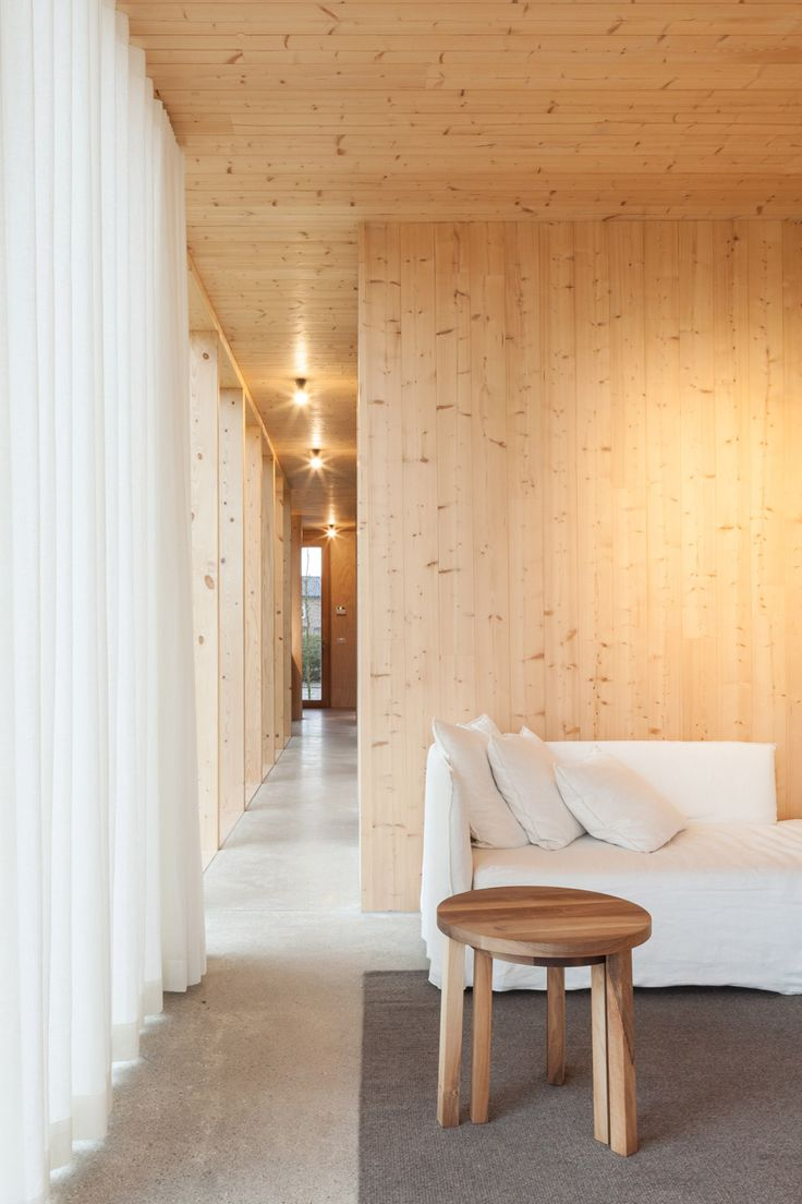 Architecture studio GAFPA used low-cost materials to build this Japanese-inspired weekend retreat in northern Belgium