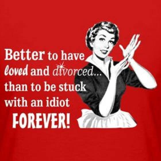 divorced now what