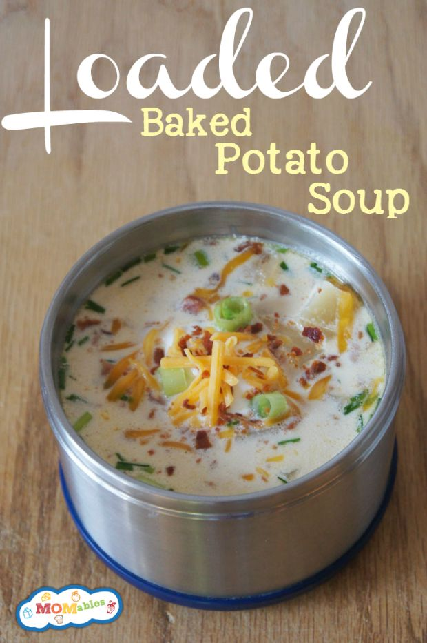 Slow Cooker Loaded Baked Potato Soup - LifetimeMoms | Slow ...