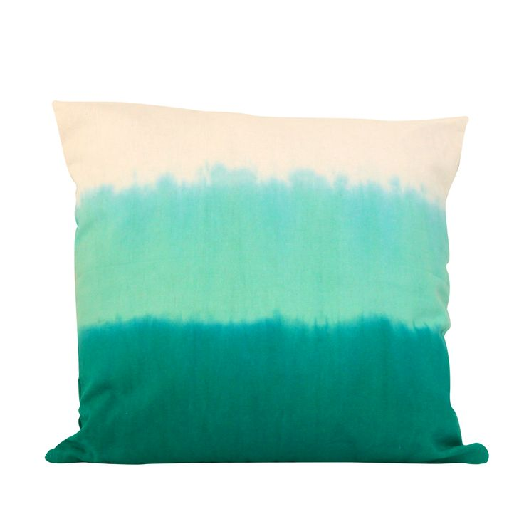 GREEN OMBRE pillow #green #ombre #mint #summer #pacificbluescollection