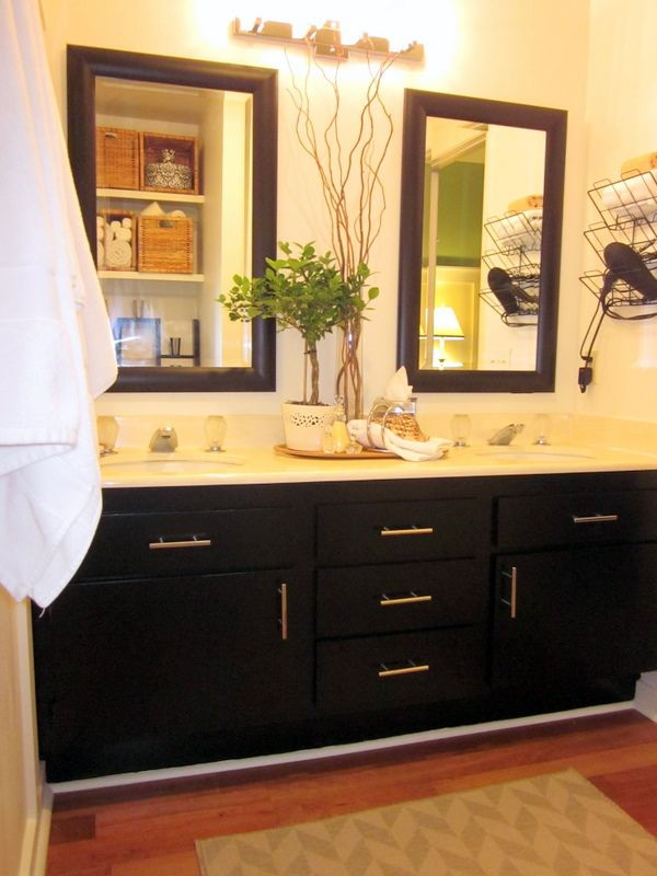 64 best images about master bath redo on pinterest for Bathroom cabinets update ideas