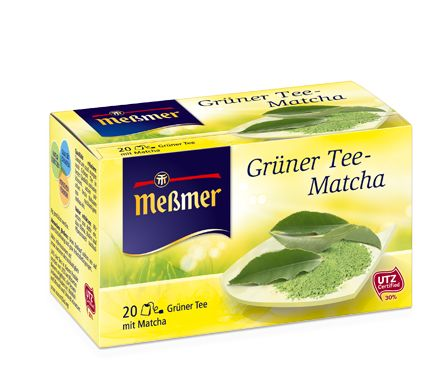 Grüner Tee-Matcha
