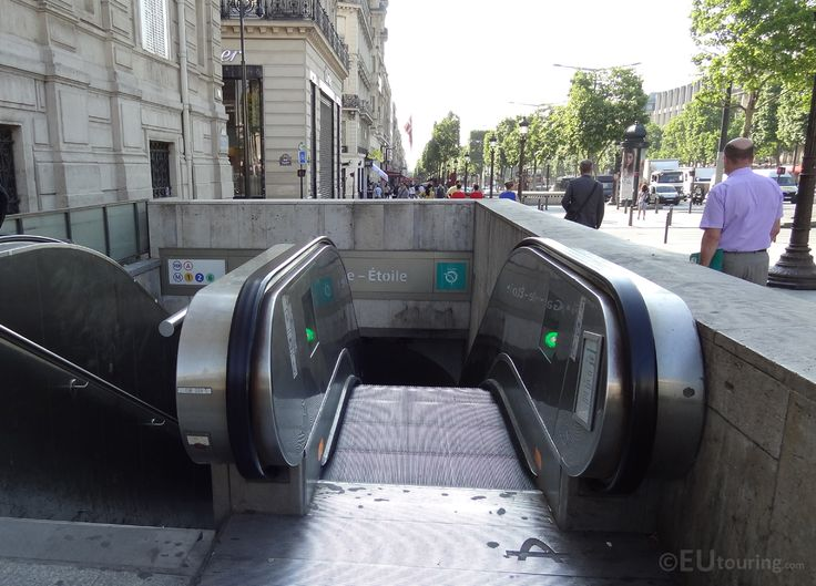 how to get to arc de triomphe by metro
