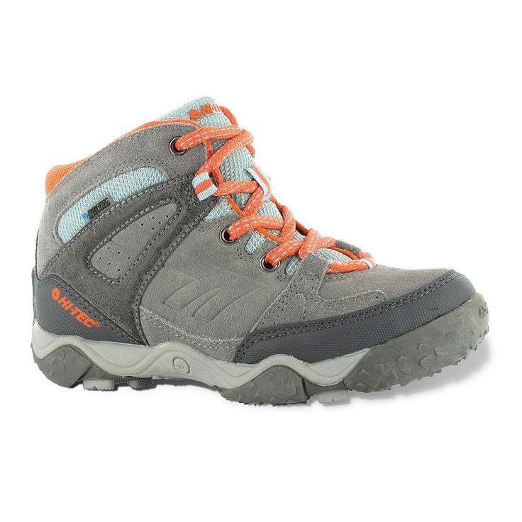 Hi-Tec Tucano Waterproof Jr. Hiking Boots - Kids, Kids Unisex, Size: