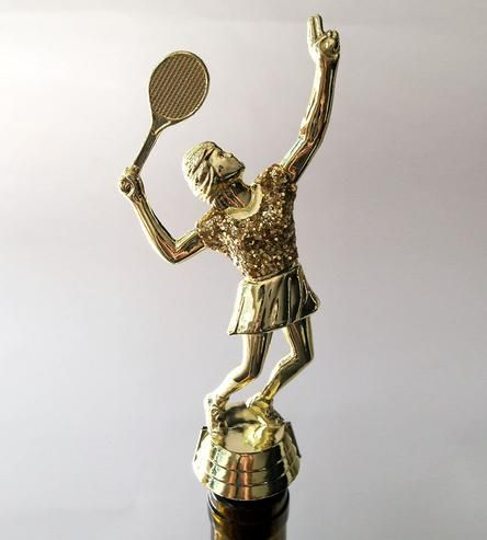 Tennis Trophy Wine Stopper by Always On Top on Scoutmob Shoppe