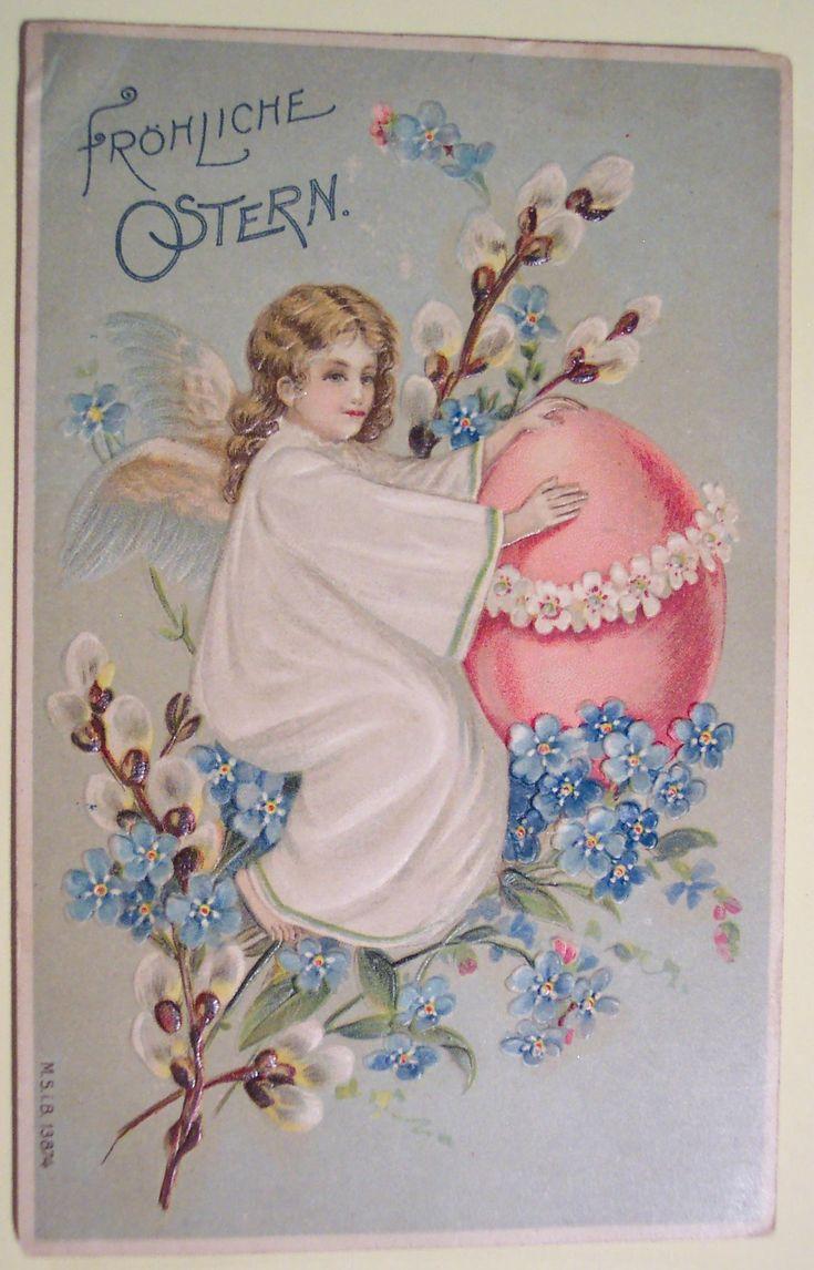Картинки смешных, поздравления с католической пасхой в картинках на немецком языке