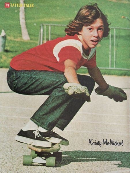 Kristy McNichol pinup from TV Guide