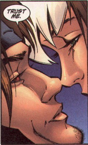 Gambit and Rogue ♥ !!! *sniffles* they're just so... yes