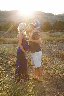 Family maternity photos