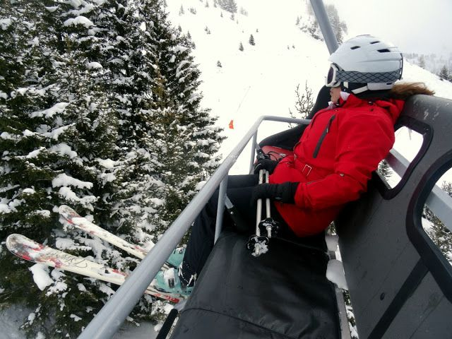 Travel and Lifestyle Diaries Blog: French Alps: 4th Day of Skiing in Pictures at Flaine Ski Resort