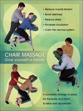 chair massage. on-site chair massage in salt lake city
