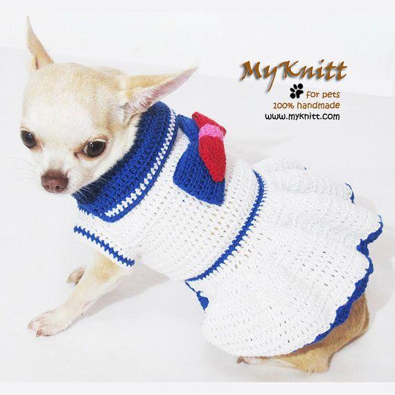 44 best Ropa olivia images on Pinterest | Dog sweaters, Crochet dog ...