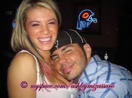 Matt Hardy and his former girlfriend Ashley Massaro